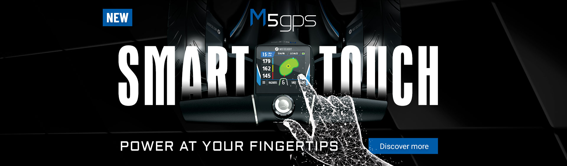 M5 GPS Electric Trolley